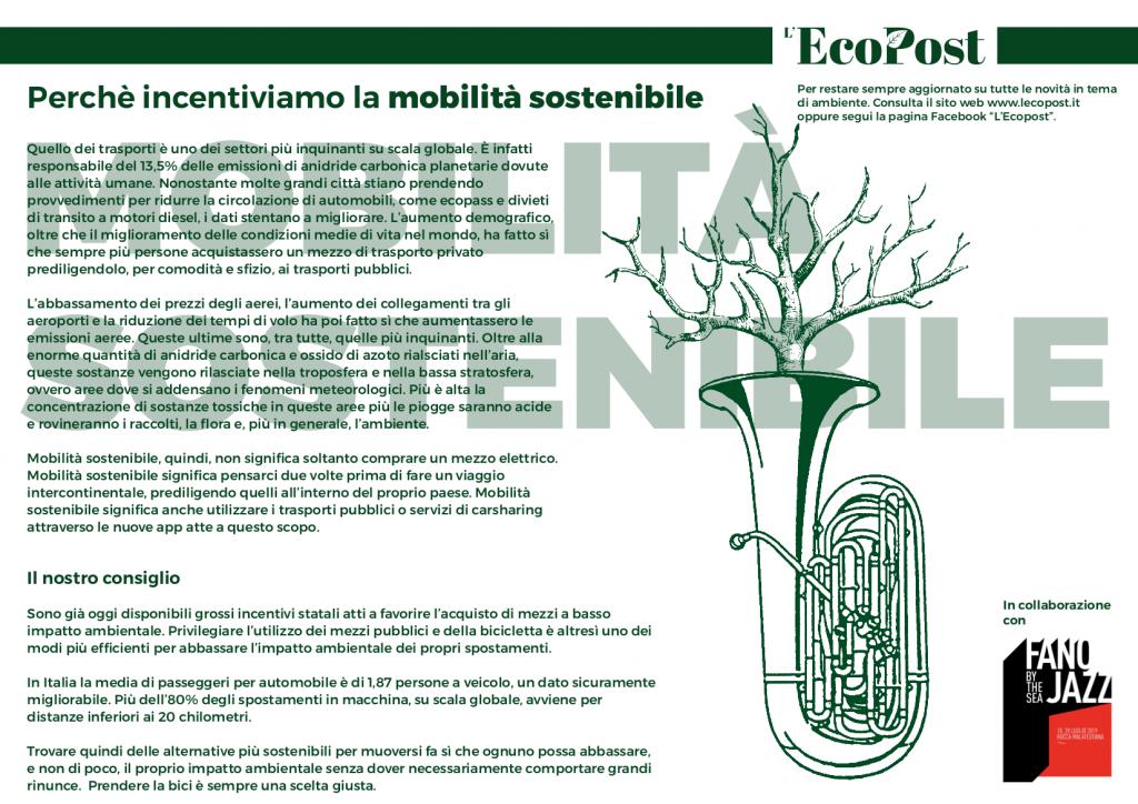 Abstrac L'EcoPost Mobilità Sostenibile