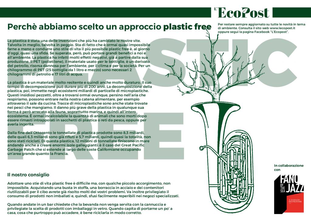 Abstrac L'EcoPost Plastc Free