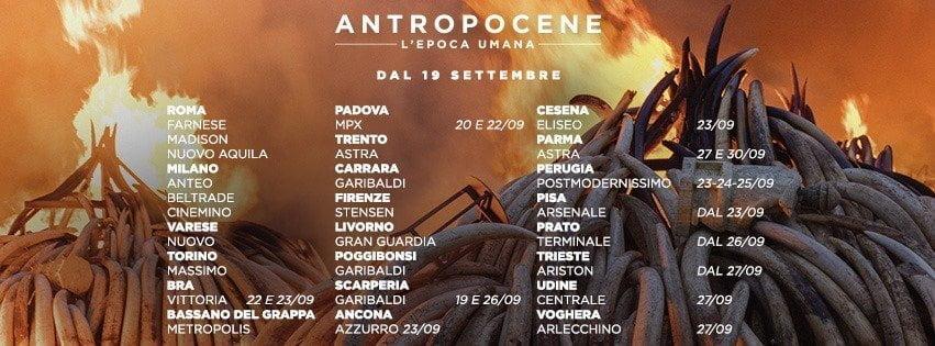 """Antropocene – L'Epoca Umana"" arriva nelle sale italiane"