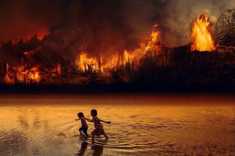 """""""Il mondo in fiamme. Contro il Capitalismo per salvare il clima"""""""