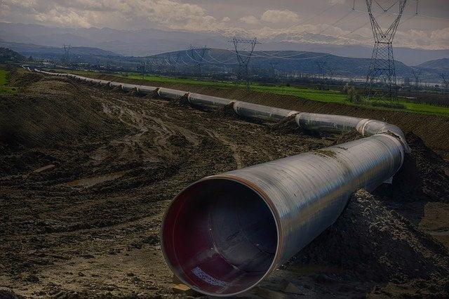 Dakota Access Pipeline pipe