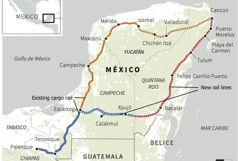 Treno Maya, la ferrovia che minaccia la giungla