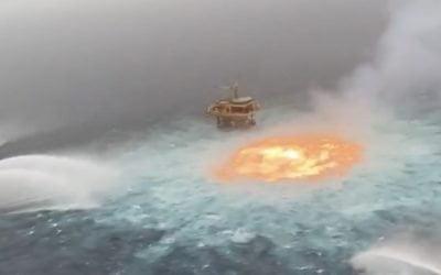 Possibile nuovo disastro ambientale nel Golfo del Messico